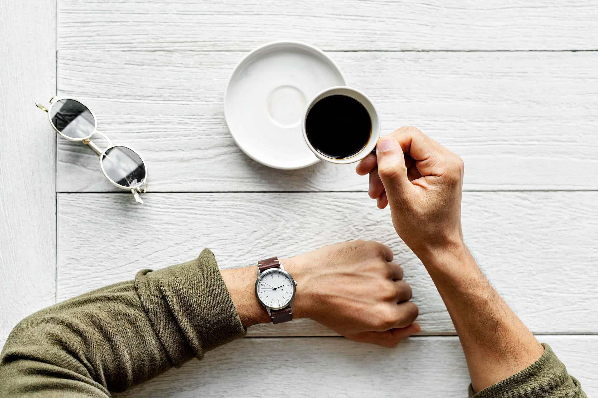Uhrzeit, Kaffee