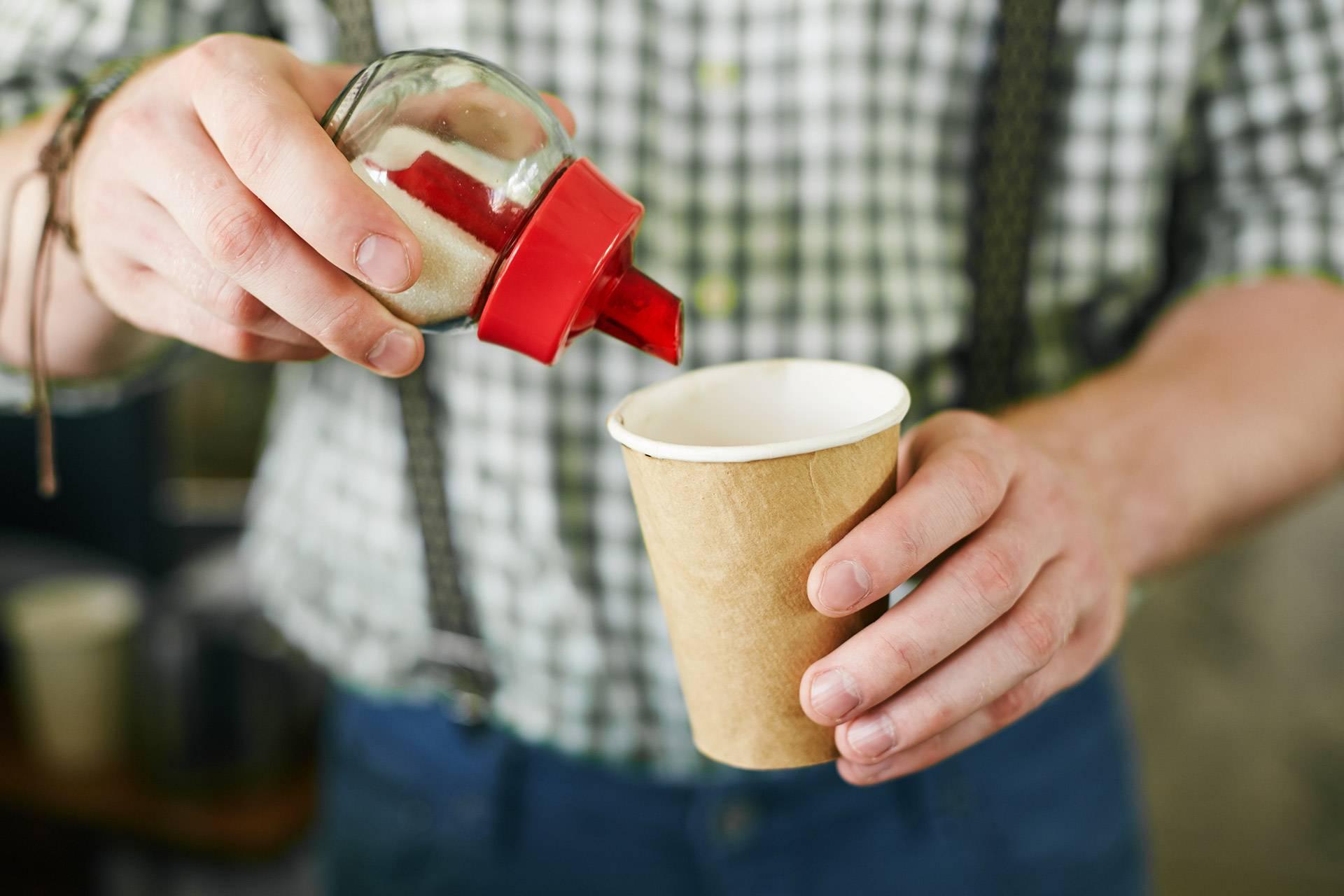 Kaffee, Zucker