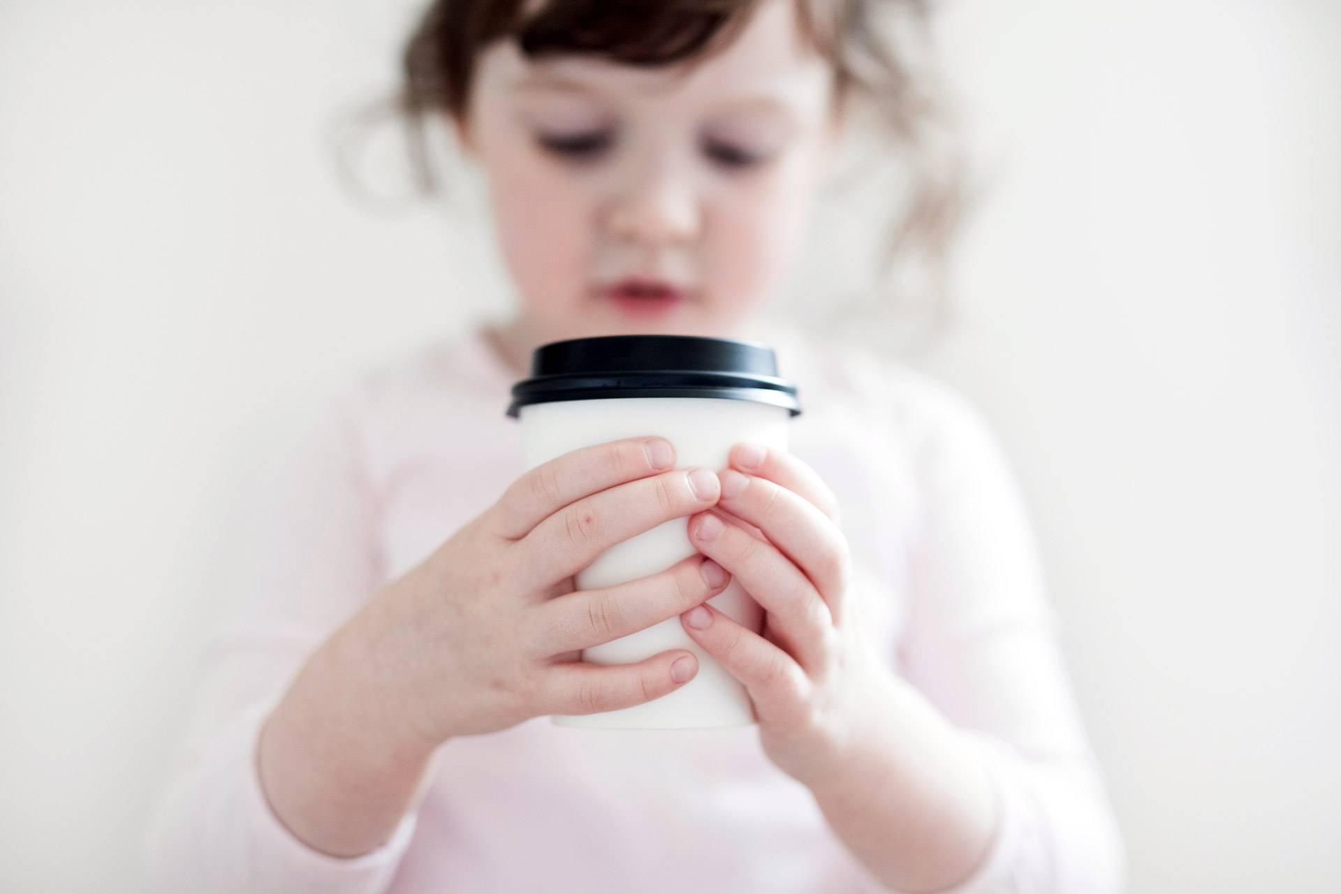 Kind, Kaffee